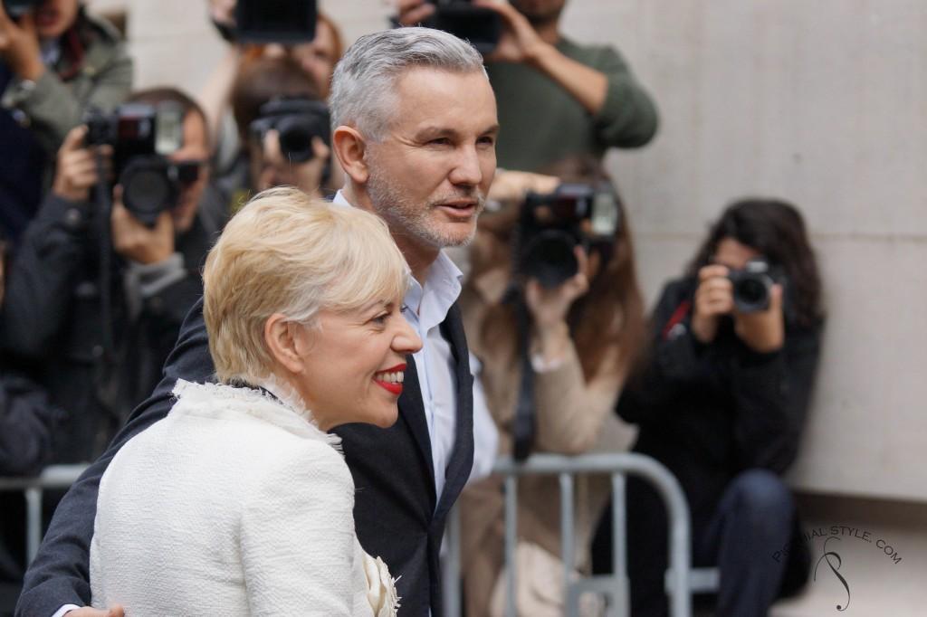 Baz Luhrmann et sa femme Catherine Martin