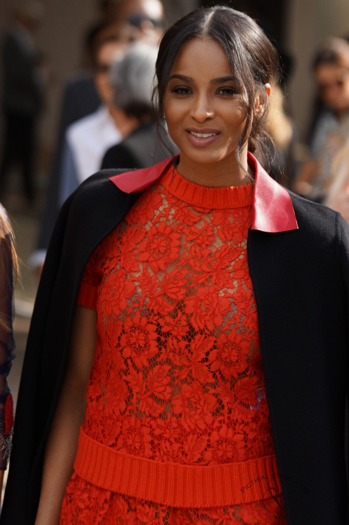 Protégé: Ciara au défilé Valentino
