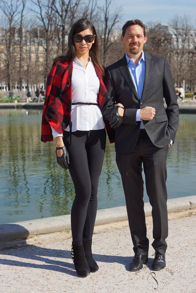 Street looks Fashion week Paris