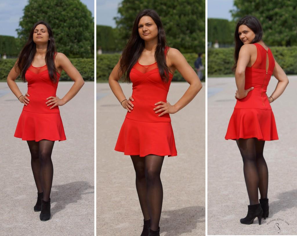 robe-courte-évasée-2